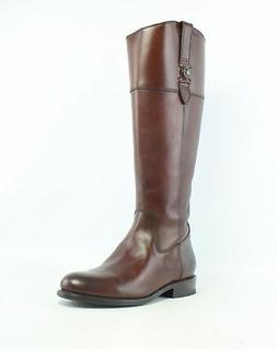 Frye Womens Jayden Button Tall Redwood-76095 Riding Boots Si
