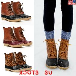 Womens Ladies Duck Boots Snow Waterproof Hiking Walking Hike