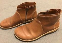 Birkenstock Womens leather ankle zip boots size EU 39 made i