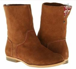 Reef Womens Low Desert Boots Tobacco 7.5 New