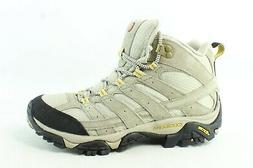 Merrell Womens Moab 2 Taupe Hiking Boots Size 8