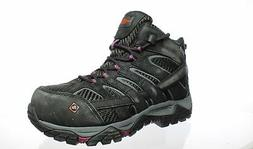 Merrell Womens Moab 2 Vent Black Work & Safety Boots Size 8.