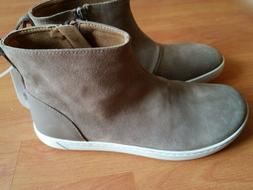 Womens  Birkenstock Myra Taupe Suede Ankle Boots Booties Cor