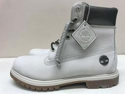 Womens Timberland Premium 6 Inch Boots, Gray TBOA1JFW New in