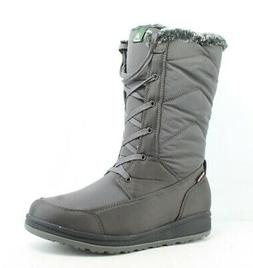 womens quincy charcoal snow boots size 8