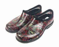 Sloggers Womens Rain Garden Waterproof Red Shoes Size 7 Made