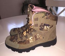 Womens RealTree Camo Hiking Boots Size 11 Waterproof Hunting
