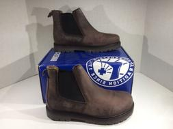 BIRKENSTOCK Womens Stalon Brown Leather Pull On Chelsea Boot