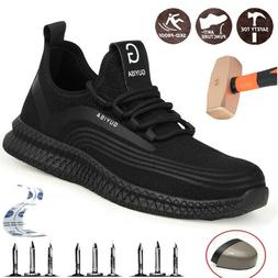 Womens Steel Toe Caps Safety Shoes Lightweight Work Construc