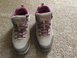 Women's Tan/Mauve Vionic Cypress Hiking Shoe/Ankle Boot -