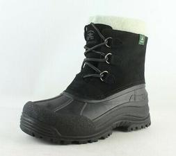 Kamik Womens Tracy Black Snow Boots Size 10