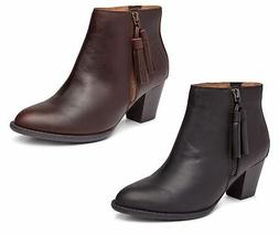 Vionic Womens Upright Madeline Ankle Boots