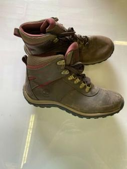 Timberland Womens Waterproof Leather Hiking Boots in Brown