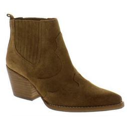 Sam Edelman Womens Winona Tan Cowboy, Western Boots 11 Mediu
