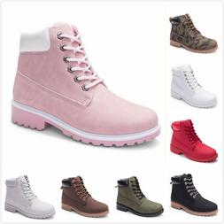 Womens Winter Martin Ankle Boots Outdoor Work Casual Waterpr